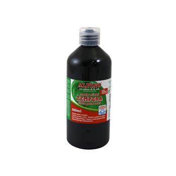 ALPINO TEMPERA SİYAH SULUBOYA 500 ml DM-010183